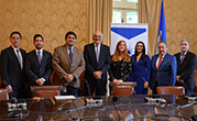 Latin American Presidential Mission and YABT meet in Washington, DC