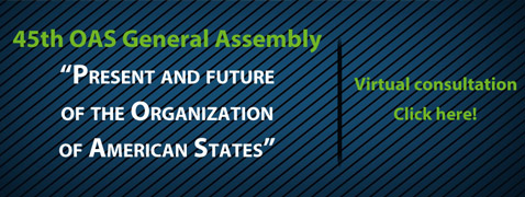 Towards the 45th OAS General Assembly