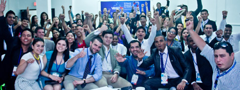 Youth leading the role of the VII Summit of the Americas