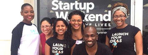YABT took part in the Startup Weekend at Trinidad and Tobago